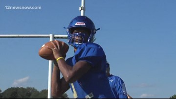 Hamshire-Fannett QB Marcus Morris is the 12 Star Athlete of the Week