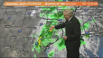 Friday morning update on tropics, cold front moving across Southeast Texas