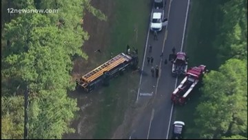 23 injured in bus rollover in Montgomery County