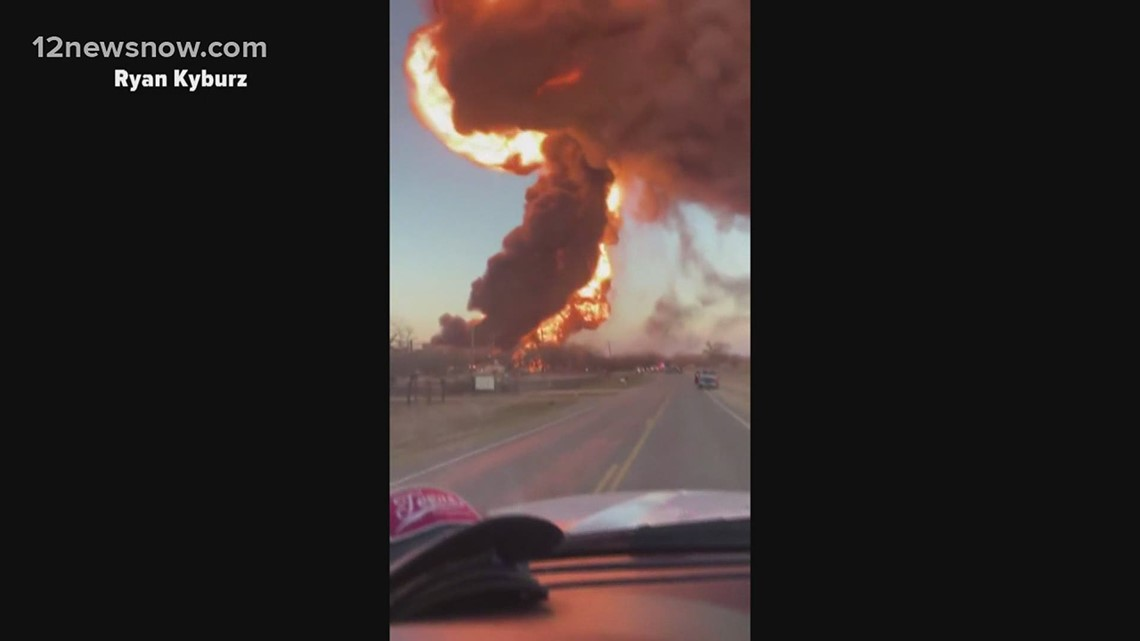 ICYMI: Fiery explosion in central Texas; Texas' mass vaccination hub up and running