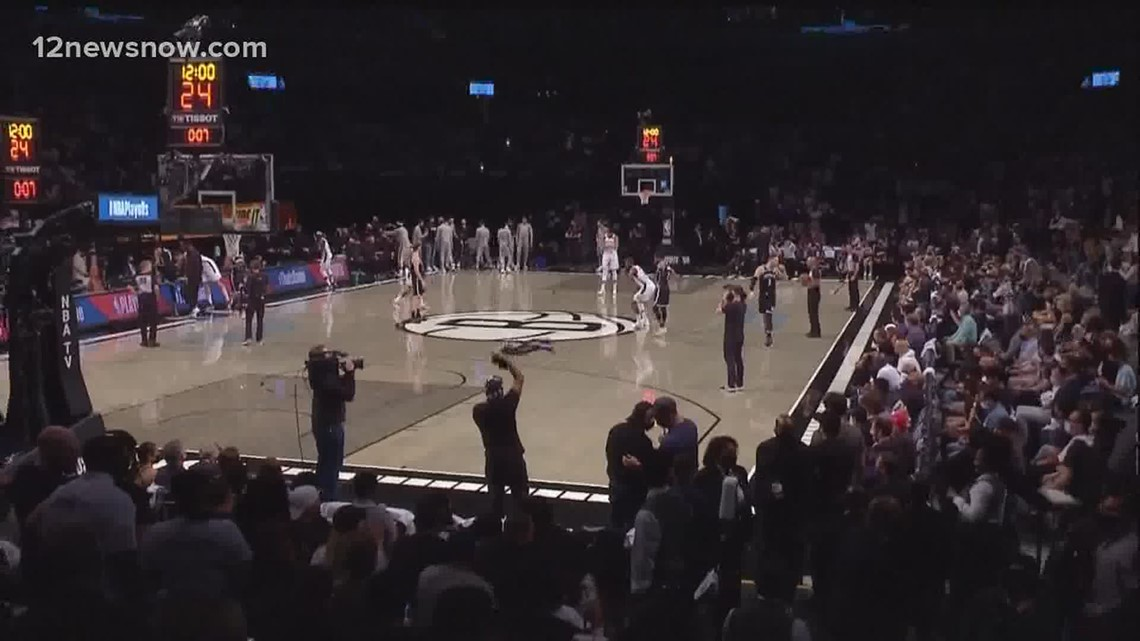 Saturday was deciding game between Milwaukee Bucks and Brooklyn Nets