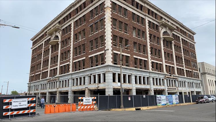 Crews resume restoration of Port Arthur's Motiva campus on Austin Ave