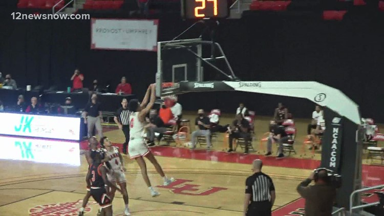 Lamar comes up short against league leading Sam Houston State