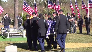 'Never thought this day would happen' | Port Arthur veteran's remains return home nearly 70 years later