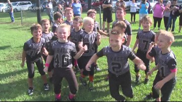 Little Vidor Pirates know the rules at school
