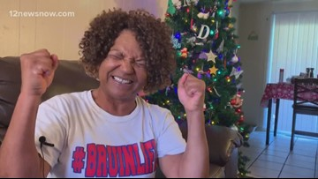 West Brook grandma could be the team's good luck charm