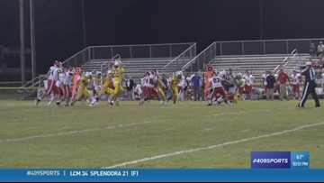 Kelly High School's Timarian Carter scores week 8's Hit of the Week