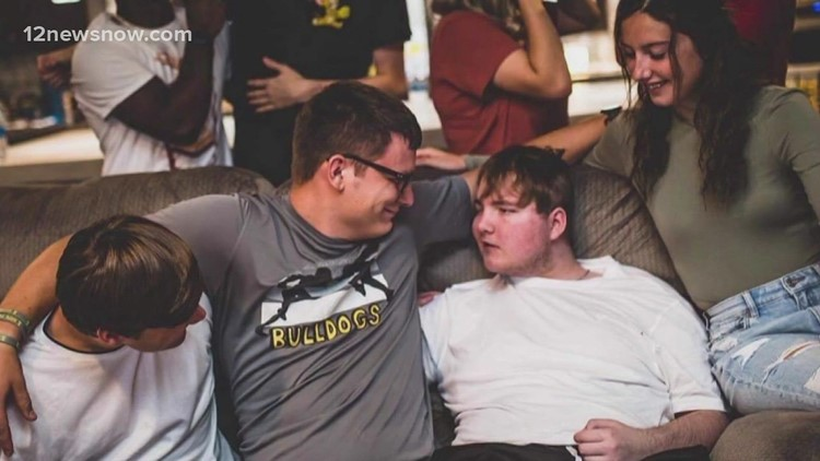 Nederland community mourning loss of 17-year-old Hunter Guidry after his battle with cancer