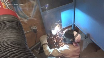 Southeast Texas students compete in welding competition
