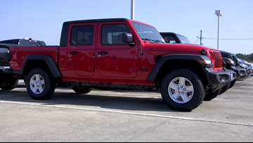 Here's our 12News Test Drive featuring the 2020 Jeep Gladiator Overland