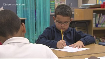 3rd grader in Beaumont pushes through learning disorder in the classroom