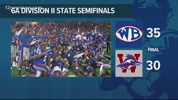 West Brook advances to state championship for first time since 1982