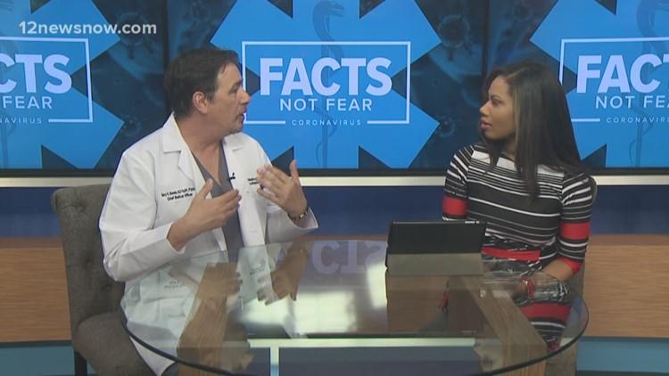 Facts Not Fear | Chief Medical Doctor addresses concerns regarding coronavirus