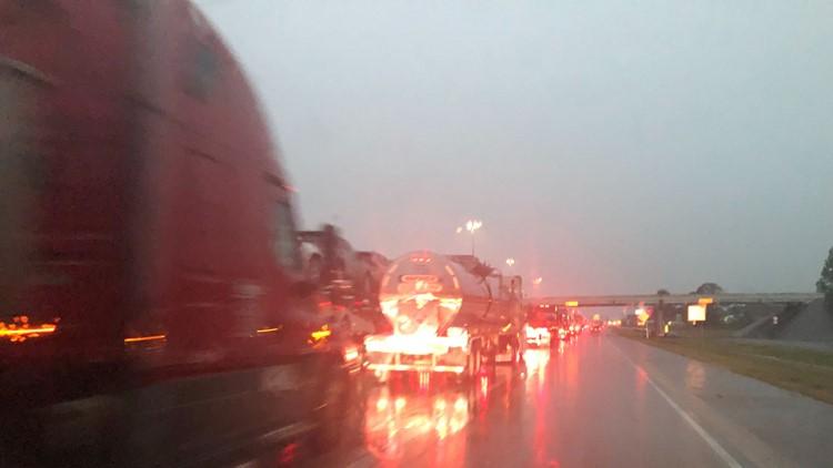 I-10 Closed down near Winnie