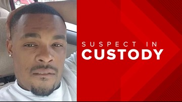 Newton County fugitive still handcuffed when captured by deputies