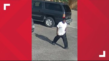 WANTED: Police are looking for this man who they said broke into a car in Beaumont