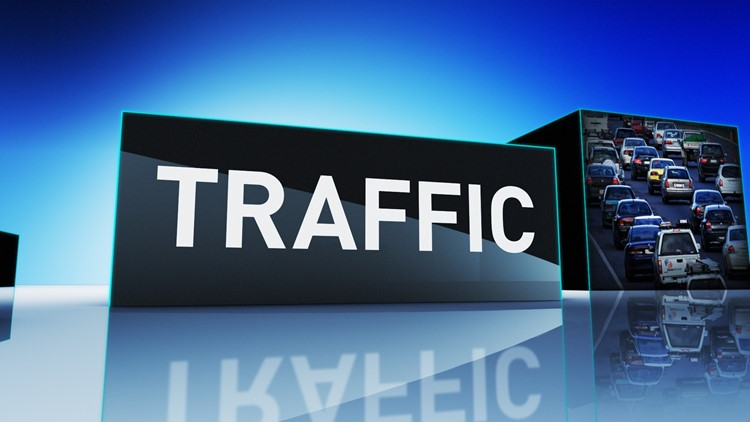 Traffic Alert: Crews will work on traffic barrier and pavement markings from 7 p.m. - 5 a.m.