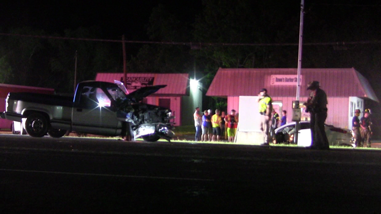 major accident on FM 105 in Vidor near Turning Point Church