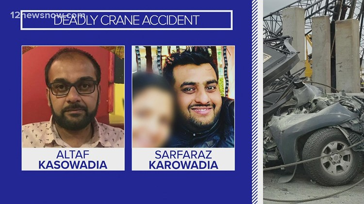 Beaumont lawyer recounts being 15 minutes ahead of 2 men killed in April crane crash on I-10