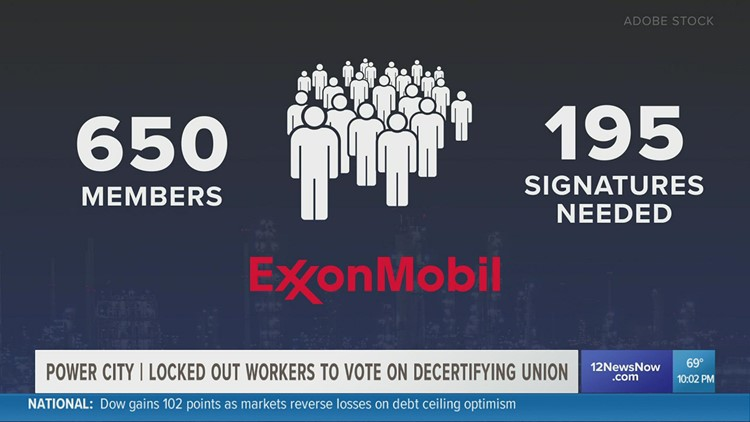 Petition to decertify United Steelworkers union underway amid ExxonMobil lockout