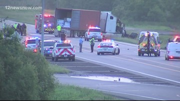 Port Arthur wreck claims one life along Hwy 73 Wednesday