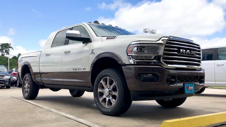 12News Test Drive takes out the 2019 RAM 2500 Laramie Longhorn Edition 4x4 pickup
