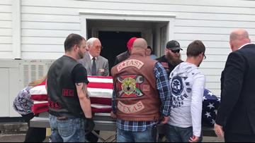 Veteran receives hero's escort with help from Hardin County community