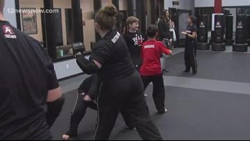 Self-defense lessons at Tiger-Rock Martial Arts in Bridge City