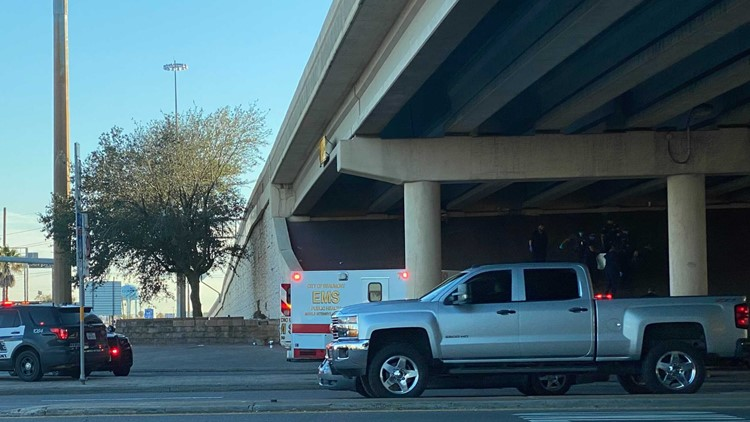 Death investigation underway after police find body at I-10 underpass on College Street