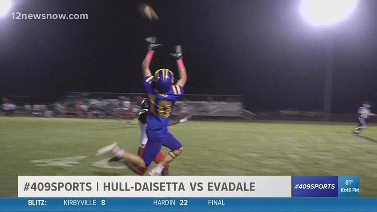 Evadale High School pounds Hull-Daisetta 40 - 6