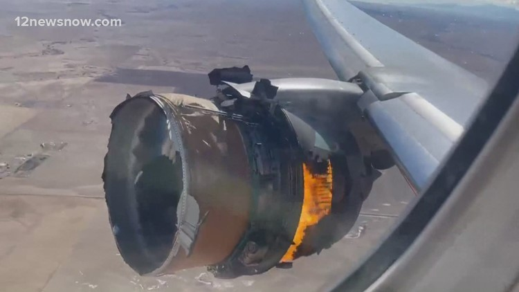 Plane engine fails moments after takeoff in Colorado, parts fall from sky