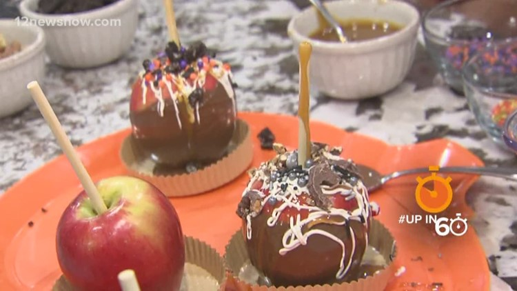 Up in 60: How to make Halloween Candy Apples