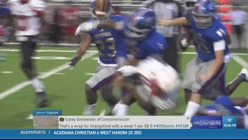Hit of the week goes to West Brook High School as they take out Bellaire