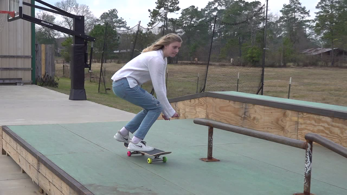 'It would be a life-changer' | 14-year old Vidor girl looks to skate into Olympics
