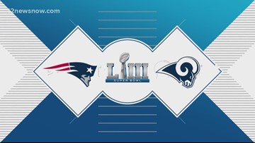 The L.A. Rams and New England Patriots set to face each other in SB53
