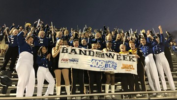 'Incredibly kind' | Vidor High gives Band of the Week award to Barbers Hill to honor late band director