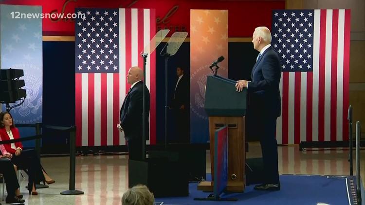 President Joe Biden called voting bills a 'concerted effort to undermine our election'