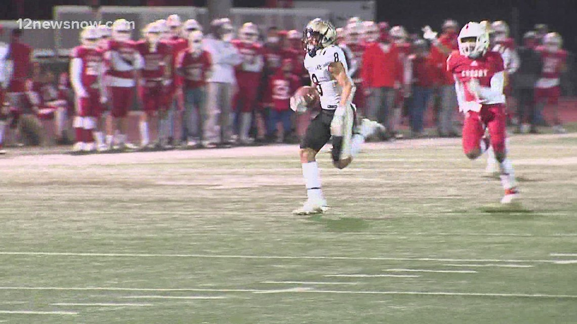 Crosby is favored over Nederland to win 12-5A-DII