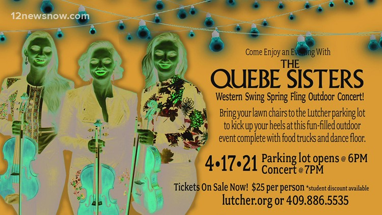 Lutcher Theater welcomes the Quebe Sisters, outside concert series kicks off April 17, 2021