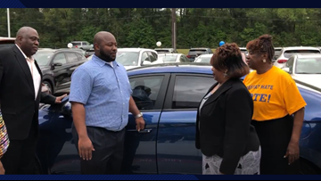 Beaumont man wins car in NAACP fundraiser