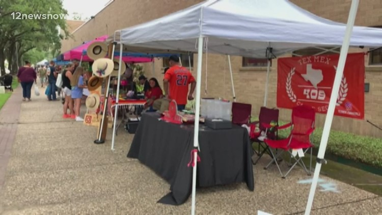 Hundreds filled downtown Beaumont for first ever inaugural Beaulympics