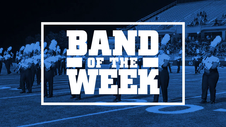 Nederland High School takes on Port Neches-Groves in the week 5 Band of the Week contest