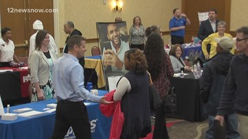 Huge turnout for 12news job fair
