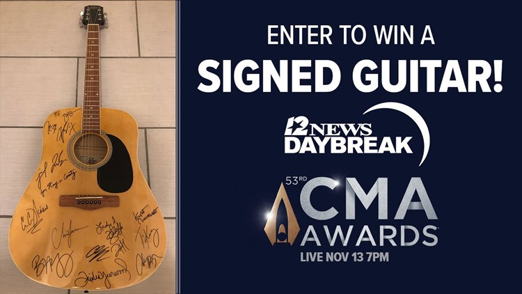 Enter the Country Music Association Awards guitar giveaway
