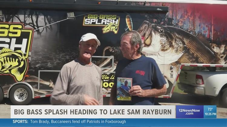 Big Bass Splash heading to Lake Sam Rayburn