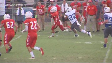 Orangefield High School beats Shepherd 27 - 21