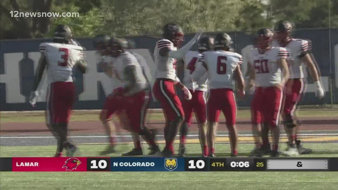 Lamar's Bailey Griffin earns WAC Special Teams Player of The Week honors