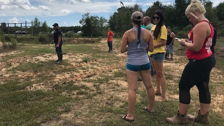 finding Big Tex at Gator Country 9-27-2019