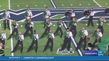 Another look at the LC-M Battlin' Bears the Week 2 Band of the Week
