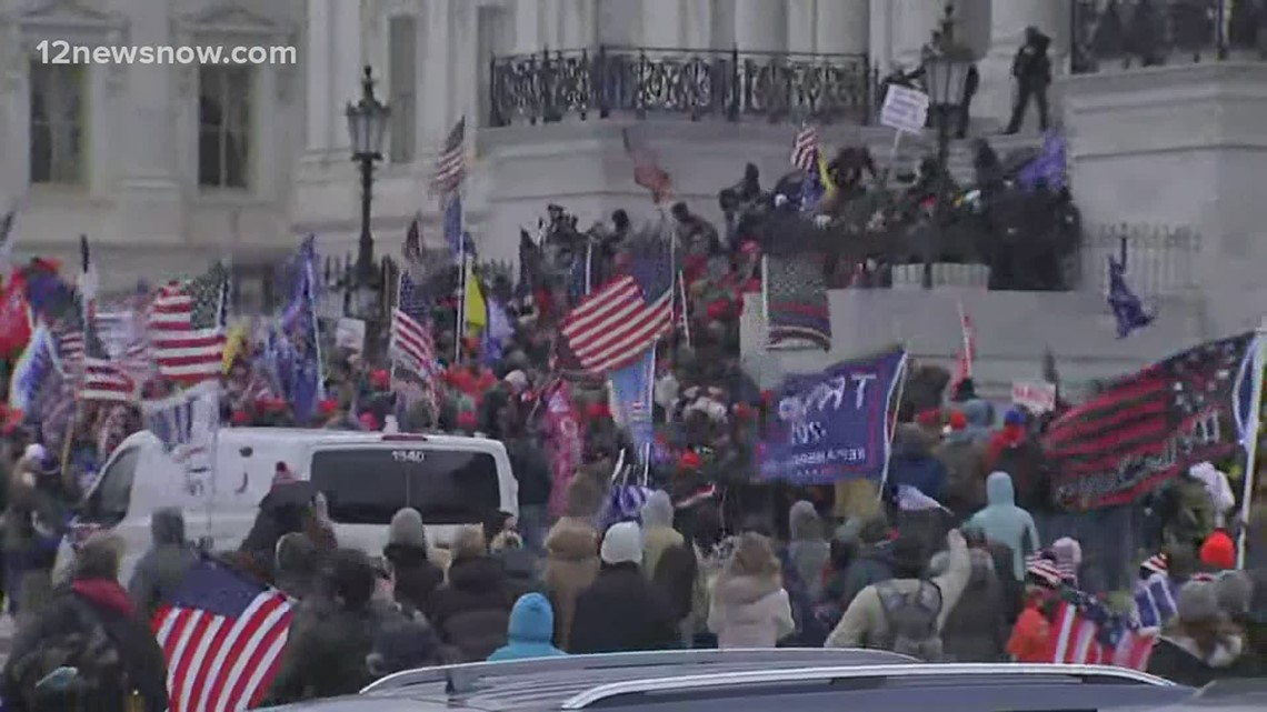 Capitol now 'secure' after Pro-Trump mob swarms, enters building